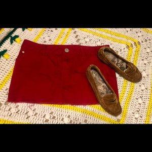 ⭐️NWT⭐️ GUESS Jean Cutoff Mini Skirt